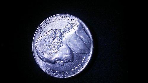 1997-d nickel error