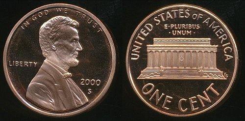 4-proof pennys 2000s,01s,02s,03s