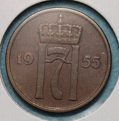 Norway 1955 5 ore