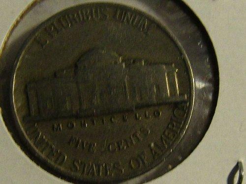 1940 P Jefferson Nickel