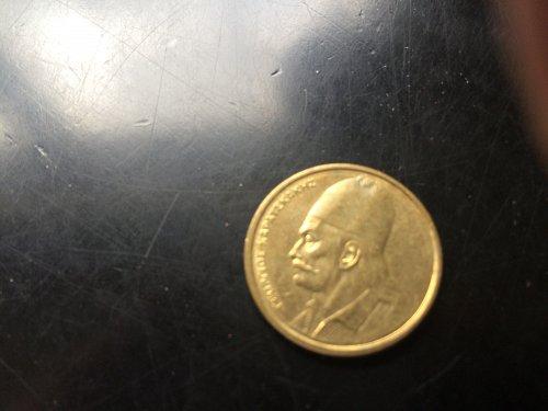 1982 2 APAXME GREEK COIN