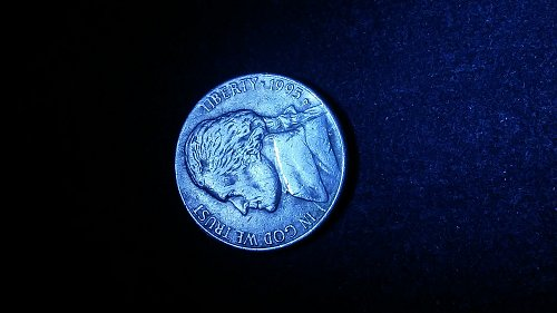 1995-p error nickel