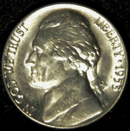 1953 D Jefferson Nickel Choice BU Nearly 'Full Steps' Superb Luster