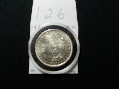 1921   MORGAN 90% SILVER   A /U     # 126