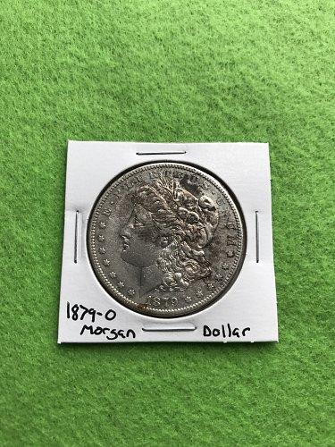 1879-O Morgan Silver Dollar - 90% Silver US Coins - Free Shipping