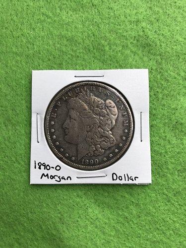 1890-O Morgan Silver Dollar - 90% Silver US Coins - Free Shipping