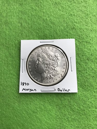 1890 Morgan Silver Dollar - 90% Silver US Coins - Free Shipping