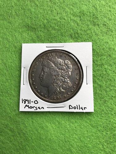 1891-O Morgan Silver Dollar - 90% Silver US Coins - Free Shipping