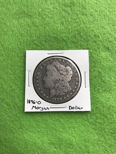 1896-O Morgan Silver Dollar - 90% Silver US Coins - Free Shipping