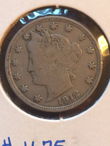 1912 P Liberty Nickels