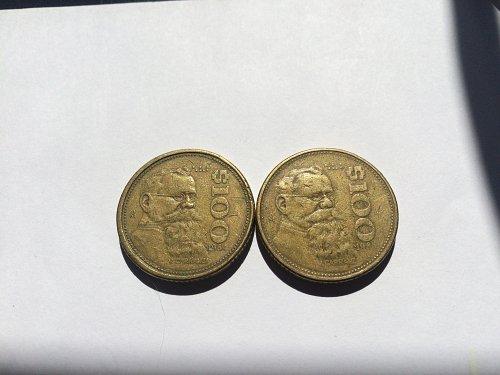 2 - $100 MEXICO PESOS