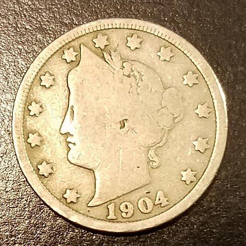 1904 Liberty Nickel (7310)