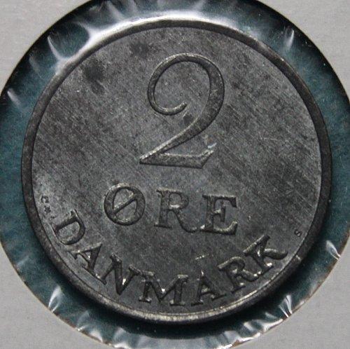 Denmark 1963 2 ore