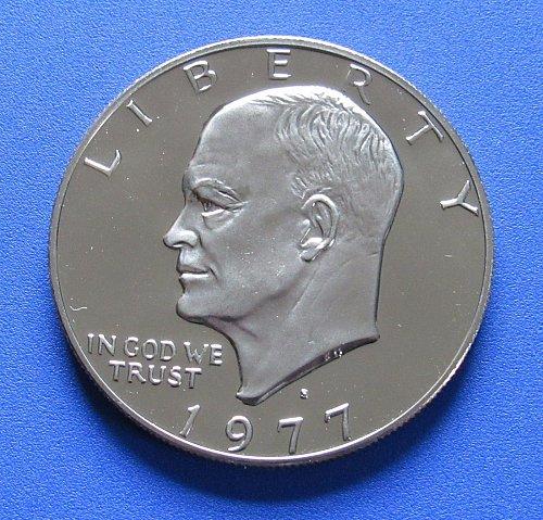 1977-S Proof Eisenhower Dollar