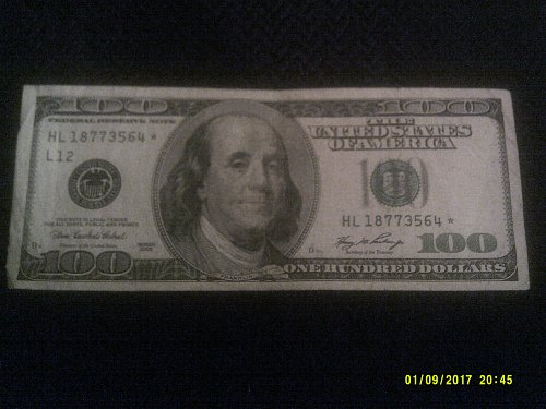 2006 $100.00 star note