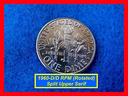1960-D/D RPM •• GEM BU from Original Roll  •••   (#3442)a
