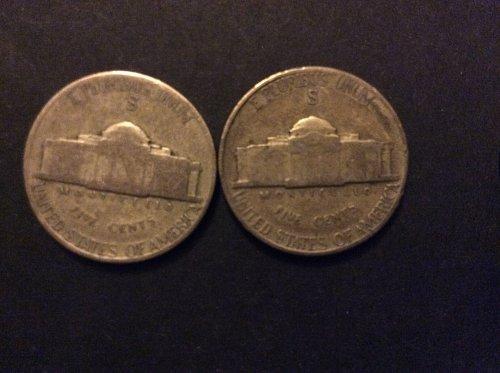 Silver war Nickel Lot.......Bonus V Nickel