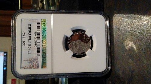 2011-s ngc pf69 ultra cameo proof nickel