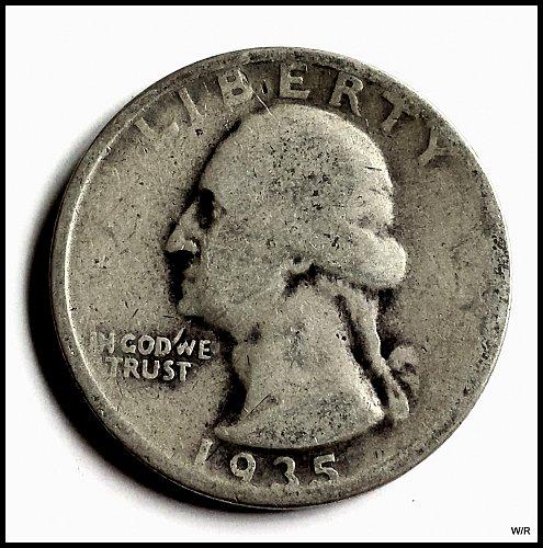 1936-P Washington Quarter: Silver Composition