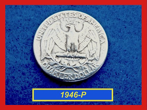 1945-P Washington Quarters ☆ ☆ Circulated ☆☆  (#2612)a