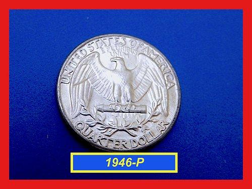 1946-P Washington Quarter —  UNCIRCULATED —   (#2663)a