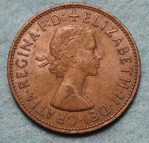 Great Britain 1965 Penny