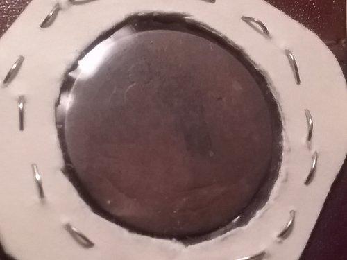 1862 Half Penny Great Britain/1870 centavos spain