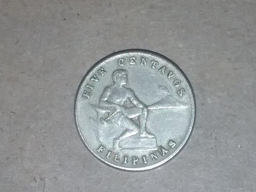 1945 5 centavos Philippines