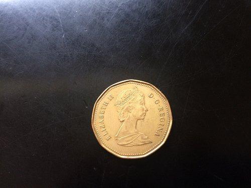 1988 CANADIAN DOLLAR LOON