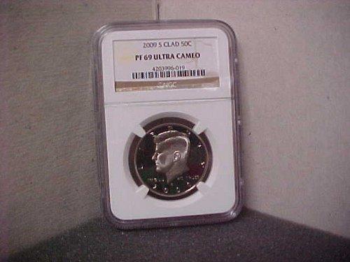 2009 S Kennedy Half Dollar NGC Graded