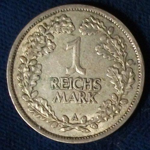 1926A Germany/Empire Reichsmark VF