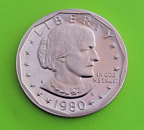 1980-S DC Proof Susan B. Anthony Dollar