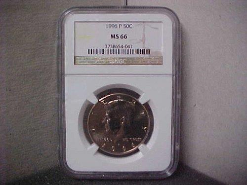 1996-P 50C NGC J.F.K. MS-66 #047