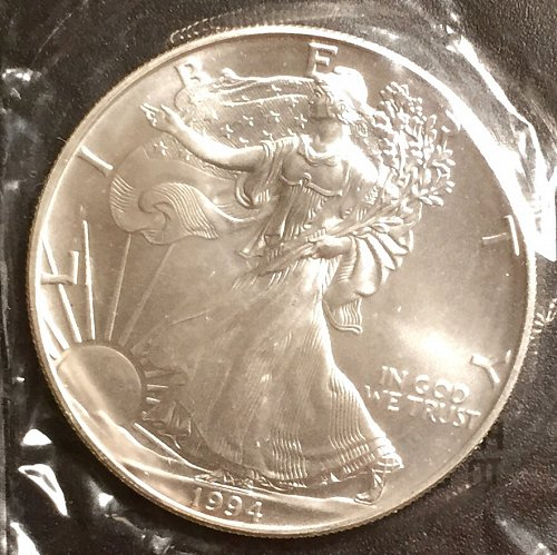1994 Silver Eagle Littleton straight from the Mint!