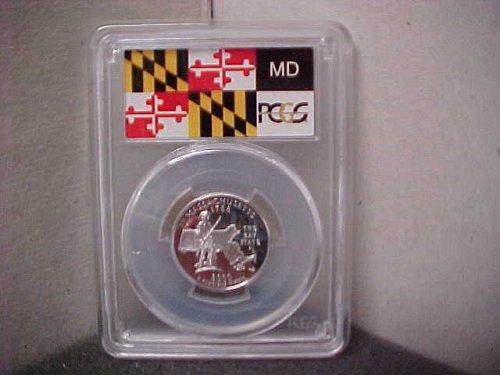 2000-S 25 Cent Washington PCGS PR69 DCAM #3033