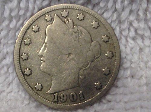 1901 nickel