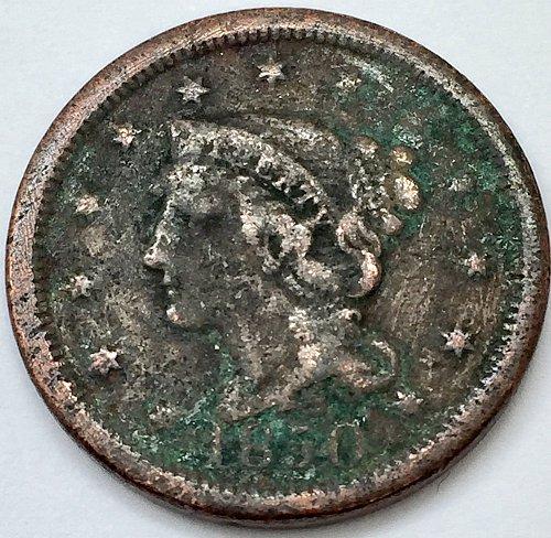 1850 Large Cent
