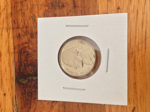 1964 Jefferson nickle PROOF