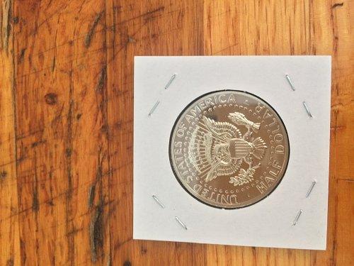 1973 S Kennedy half dollar