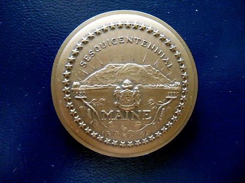 1970 Maine Statehood Anniversary Medal