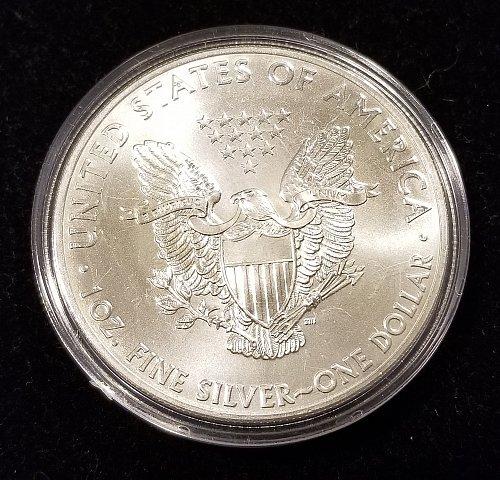 2015 Silver American Eagle in Air Tight