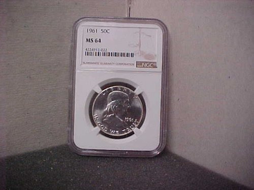 1961 50C NGC MS64 Ben Franklin  #022