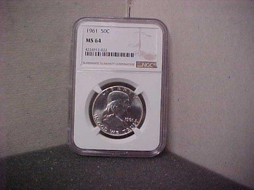 1961 50C NGC MS64 Ben Franklin  #022