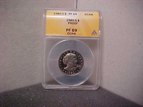 1980S $1 Susan B. Anthony PF69 DCAM ANACS  #3155