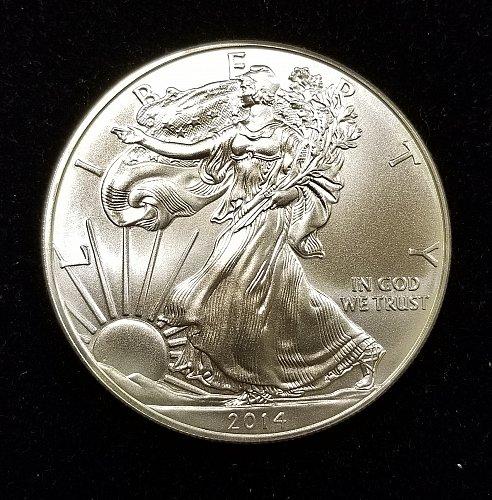 2014 Silver American Eagle 003