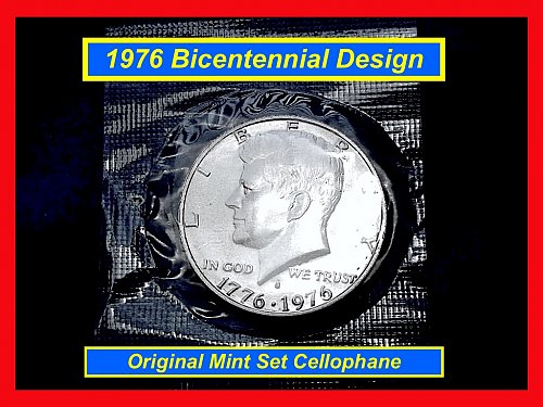 """Bicentennial KENNEDY HALF 40% Silver  """"BU""""    (#1640)a"""