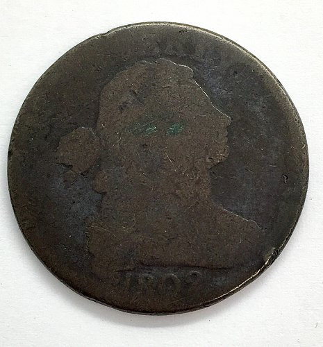 1802 Large Cent- Normal Reverse