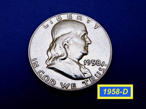 "1958-D Washington Quarters ✬  GRADE: ""XF40-45"" ✮  (#1765)a"