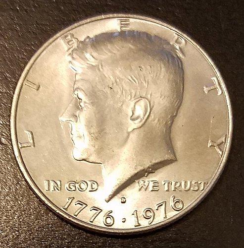 1976-D Kennedy Bicentennial Half Dollar (7410)