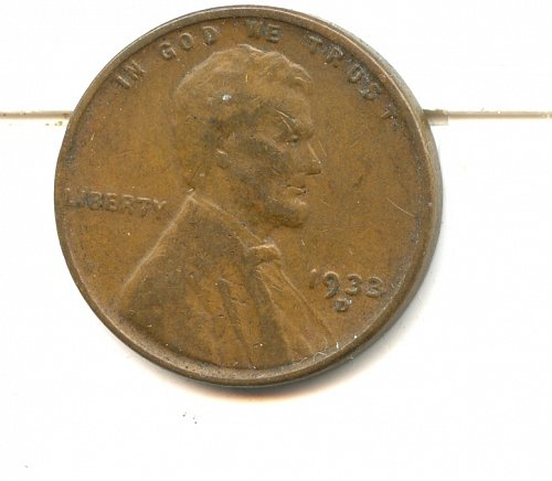 1933 D Lincoln cent VF Denver